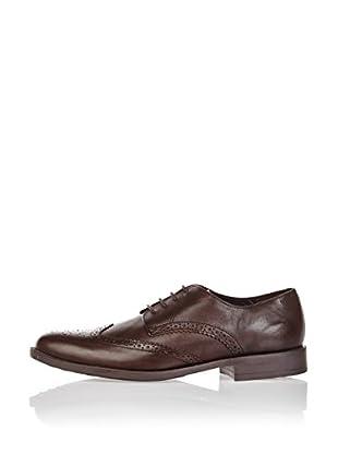 Divarese Zapatos Derby Fox (Marrón Oscuro)