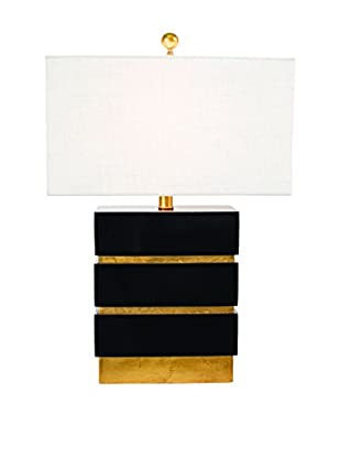 Couture San Simeon Table Lamp, Gloss Black