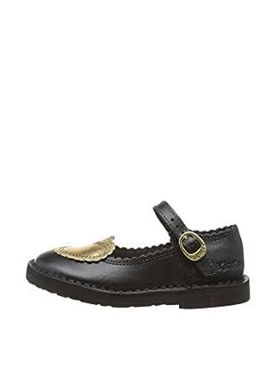 Airborne Footwear Ltd. Merceditas California (Negro / Dorado)