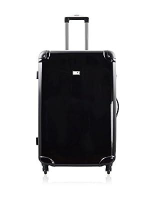 Potiron Hartschalen Trolley Airline schwarz  70  cm