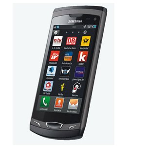 Samsung S8530 Wave II GSM Cell Phone with Wi-Fi, GPRS, 3G, GPS, EDGE, MP3, FM, EMAIL   Gray