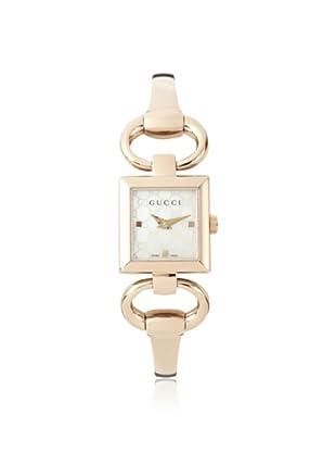 Gucci Women's YA120519 Tornabuoni Rose Stainless Steel Watch