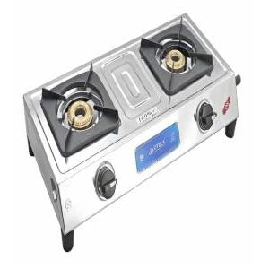 Fabiano Stainless Steel - 2 Burner Gas Stove