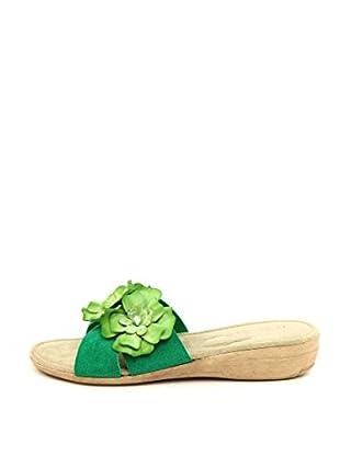 La Comoda Sandalias Irene (Verde)