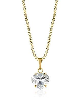 Philippa Gold Halskette vergoldetes Metall 24 kt