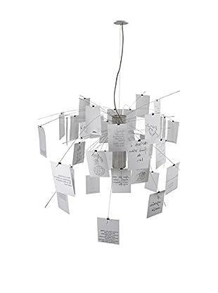 INGO MAURER Lámpara De Suspensión Zettel'Z 6