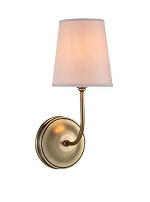 Urban Lights Lancaster 1-Light Wall Lamp, Antique Bronze