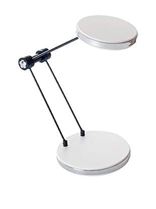 LED Foldable Desk Lamp with USB, White