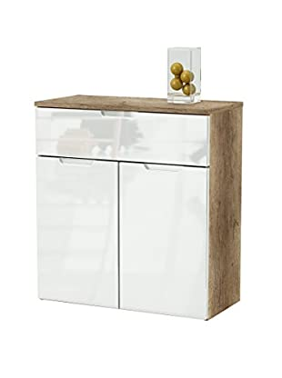 13 Casa Mueble Buffet Mountain A8 Blanco/Natural