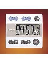VWR ALARM TIMER 4-CHANNEL - VWR Four-Channel Alarm Timer - Model 62344-641 - Each - Model 62344-641