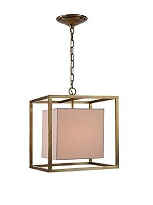 Urban Lights Quincy 1-Light Pendant Lamp, Bronze