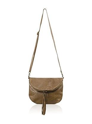 Carla Belotti Bandolera Handbag Sandy Taupe
