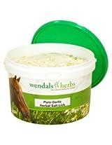 Wendals Herbs Salt Lick Pure Garlic - 7.7 Lb
