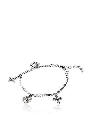 SWAROVSKI ELEMENTS Pulsera Charms Transparente