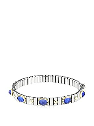 Nomination Armband  silber/blau