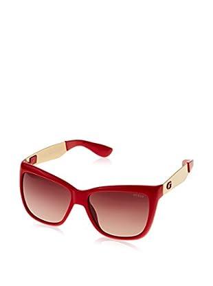 Guess Sonnenbrille GU7371 (57 mm) dunkelrot