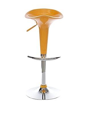 Co.Import Taburete de bar Naranja