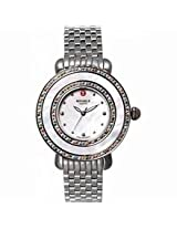 Michele Cloette Mother Of Pearl Dial Stainless Steel Ladies Watch Mww20E000014