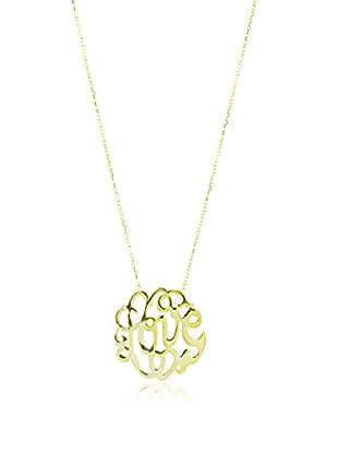 Argento Vivo Scroll Love Necklace