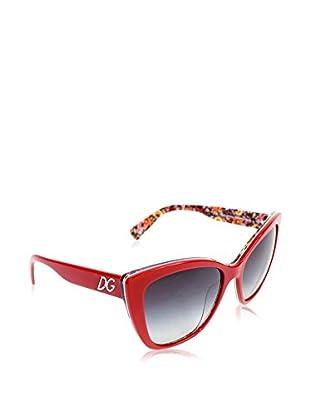 Dolce & Gabbana Gafas de Sol 4216 27928G (55 mm) Rojo