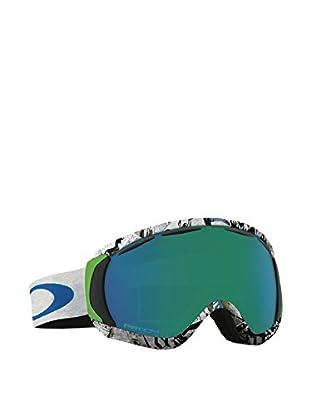 OAKLEY Skibrille OO7047-04 grau/blau
