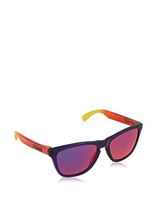 Oakley Sonnenbrille OO9013-45 (55 mm) blau/rot