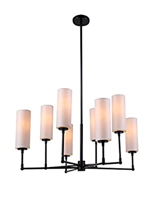 Urban Lights Richmond 8-Light Pendant Lamp, Bronze
