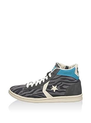Converse Hightop Sneaker Pro Leather Lp Mid Can Zip Pri grau/carbon EU 37.5