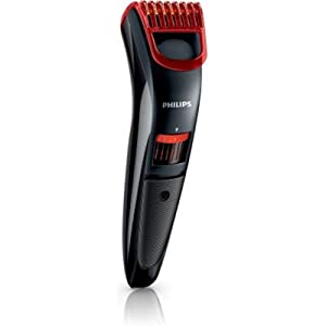 Philips QT 4006 Trimmer (Black & Red)