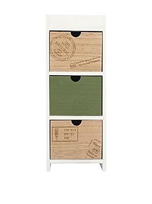 LO+DEMODA Schubladencontainer Vintage