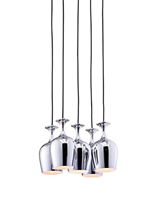 Zuo Ice Ceiling Lamp, Chrome