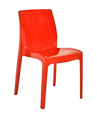 Evergreen House Set Silla 4 Uds. Rojo