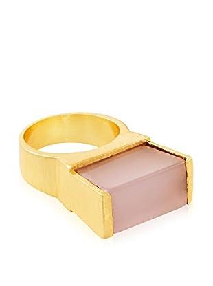 Saachi Pink Block Ring
