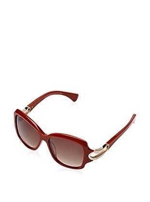 Alexander McQueen Sonnenbrille AMQ4215/S (56 mm) ziegelrot