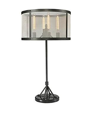 CDI Furniture Riveted Mesh Table Lamp