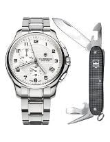 Victorinox Swiss Army icers Chronograph with Knife Mens Watch - V241554.1