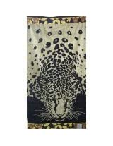 Luxury Oversized Beach Towels, Tiger on the beach, 100 Egyptian Cotton