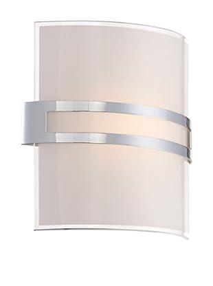 Lite Source Galena 1-Light LED Sconce, Chrome