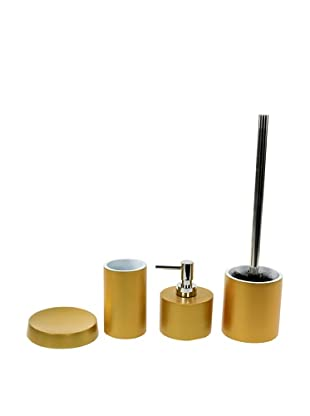 Gedy by Nameeks Piccollo Bathroom Accessory Set, Gold