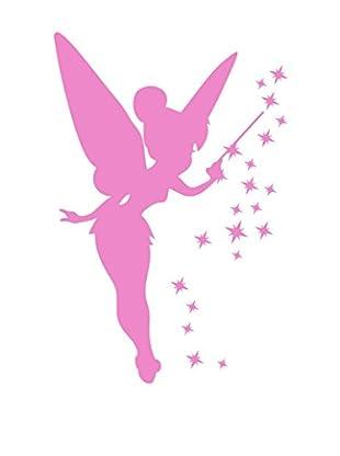 Ambiance Live Wandtattoo Pink Fairy and Stars rosa
