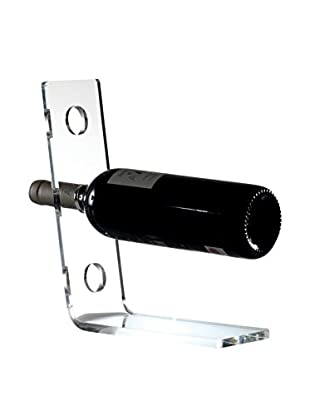 Torre and Tagus Acrylic Angle 3-Bottle Wine Rack