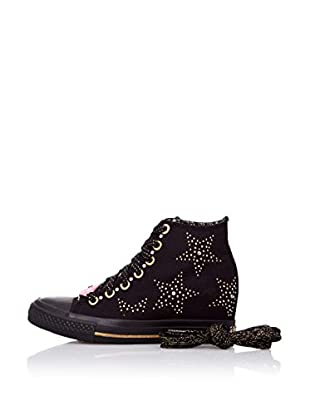Skechers Botas 39101 (Negro / Dorado)