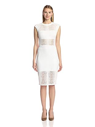 Twenty Tees Women's Boa Perforated Dress