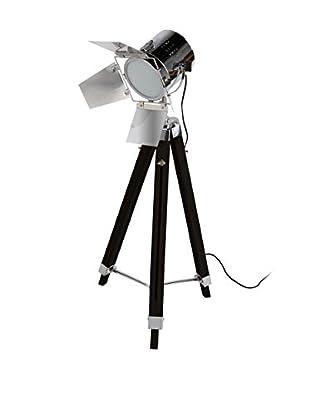 Only Deco Bodenlampe schwarz/silberfarben