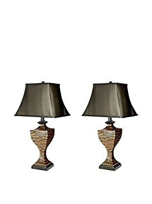 Safavieh Set of 2 Sahara Safari Lamps