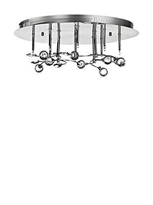 PREMIER Deckenlampe silberfarben