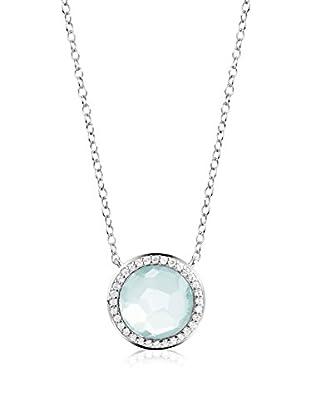 DI GIORGIO PARIS Halskette Mn28Ca rhodiniertes Silber 925