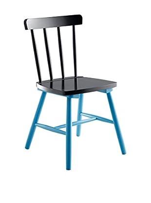 Stuhl 2er Set Kaos I10 blau