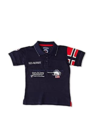 Geographical Norway Polo Karaft Ss Boy 100 (Marino)