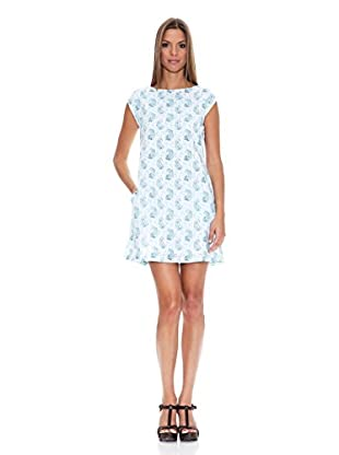 Tantra Vestido Straight Pattern (Azul)